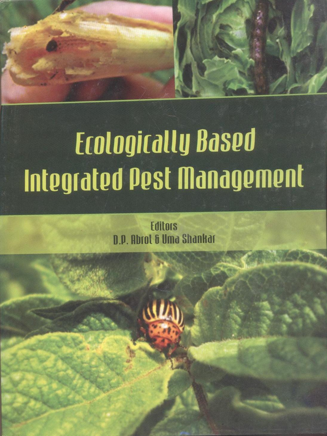Cover of Ecological based integrated pest management (Part 1)