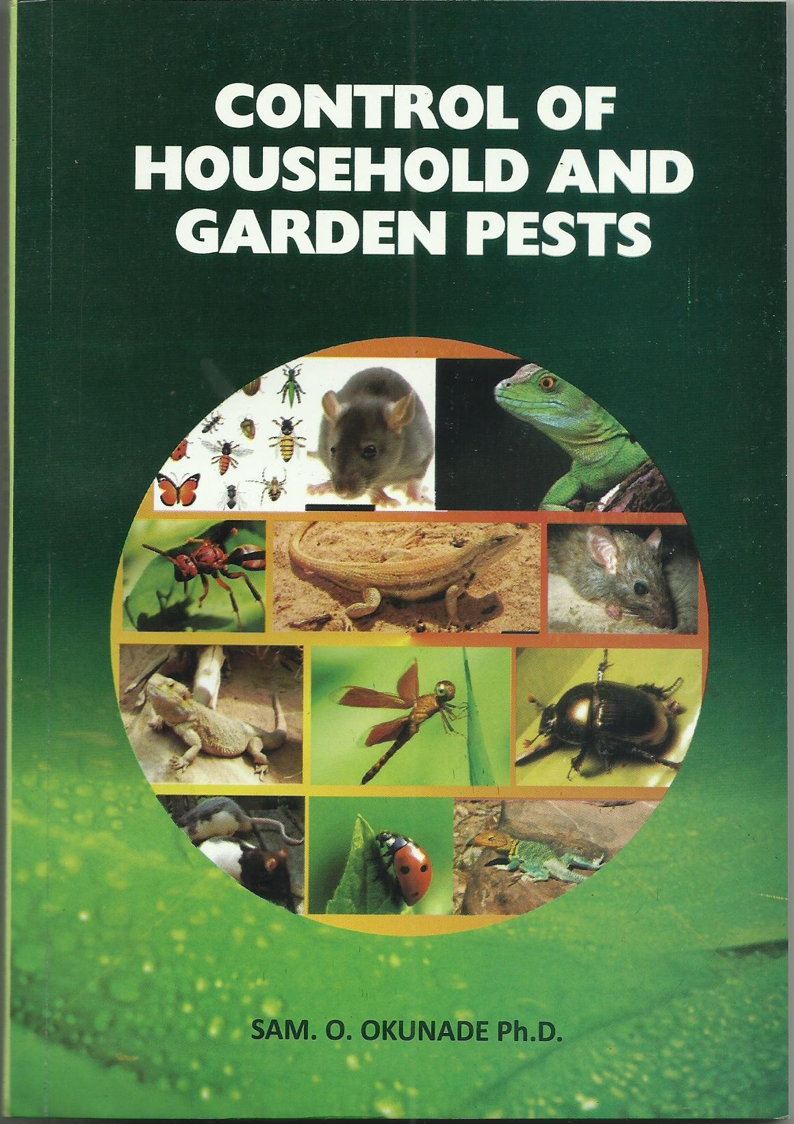 Cover of Control Of Household and Garden Pests
